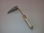Stainless steel weeding hoe