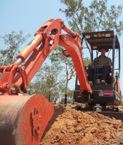 Dan front excavator course